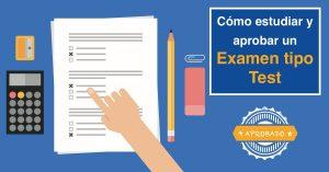 Cómo estudiar para un examen tipo test en oposiciones